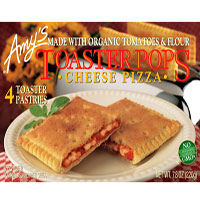 Amy's Cheese Pizza Toaster Pops