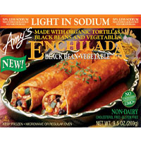 Amy's Light in Sodium Black Bean Enchilada