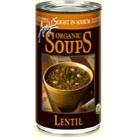 Amy's Organic Lentil Soup- Light in Sodium