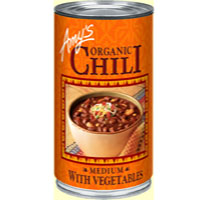 Amy's Organic Medium Chili with Vegetables