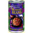 Amy's Organic Refried Beans with Green Chiles
