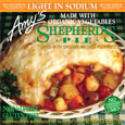 Amy's Shepherd's Pie - Light In Sodium