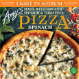 Amy's Single Serve Spinach Pizza - Light In Sodium