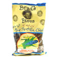 Brad's Organic All Natural Blue Tortilla Chips No Salt, 1 Case, 12 Bags