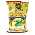 Brad's Organic All Natural Mini Yellow Tortilla Chips, 1 Case, 12 Bags
