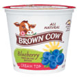 Brown Cow  Cream Top  Blueberry Quart