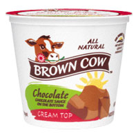 Brown Cow Cream Top  Chocolate