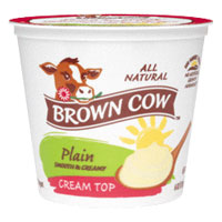 Brown Cow  Cream Top  Plain Quart