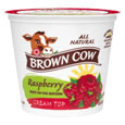 Brown Cow Cream Top  Raspberry