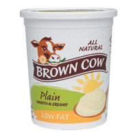 Brown Cow  Low Fat  Plain Quart