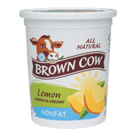 Brown Cow  Nonfat  Lemon Quart