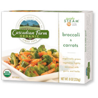 Cascasian Farm Purely Steam® Broccoli & Carrots