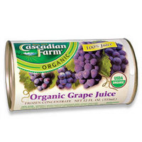Cascadian Farm grape juice concentrate
