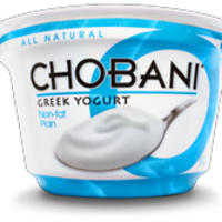 Chobani Plain 0% Greek Yogurt