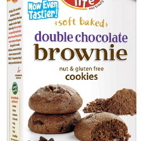 Enjoy Life Foods Double Chocolate Brownie Cookies