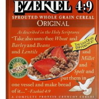 Sprouted 4.9 Whole Grain Cereal Ezekiel 4.9