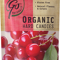Go Natural Organic Hard Candy Cherry