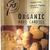 Go Natural Organic Hard Candy Ginger