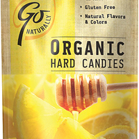 Go Natural Organic Hard Candy Honey Lemon