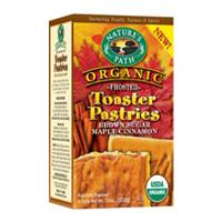 Natures Path Brown Sugar Maple Cinnamon Frosted Toaster Pastry
