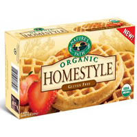 Natures Path Homestyle Frozen Waffles