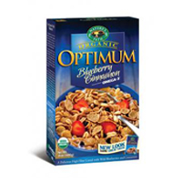 Natures Path Optimum Blueberry Cinnamon Cereal