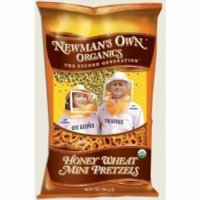 Newman's Own  Honey Wheat Mini Pretzels