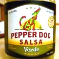Pepper Dog Salsa Verde
