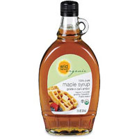 Wild Harvest Organic 100% pure maple syrup