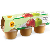Wild Harvest Organic Apple Sauce Cups