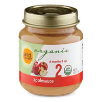 Wild Harvest Organic Applesauce for Babies
