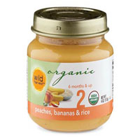 Wild Harvest Organic Peach Bananna Rice Baby Food
