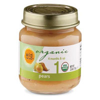Wild Harvest Organic Pear Baby Food