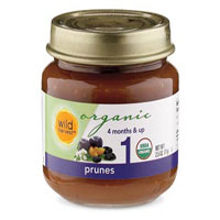 Wild Harvest Organic Prunes Baby Food
