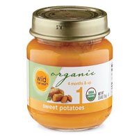 Wild Harvest Organic Sweet Potato Baby Food