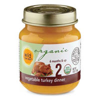 Wild Harvest Organic Veggie Turkey Dinner Baby Food