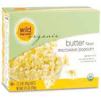 Wild Harvest Organic butter microwave popcorn