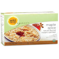 Wild Harvest Organic maple spice instant oatmeal