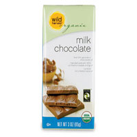 Wild Harvest Organic milk chocolate bar