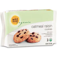 Wild Harvest Organic oatmeal raisin cookies