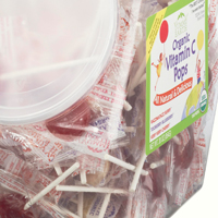 Yummy Earth Organic Vitamin C Pops