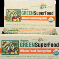 Amazing Grass Organic GreenSuperFood Whole Food Energy Bar