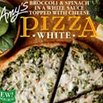 Amy's Broccoli and Spinach White Pizza