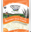 Organic Valley Organic Reduced Fat Monterey Jack Cheese