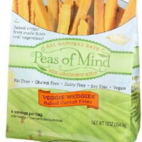Peas of Mind Carrot Veggie Wedgies