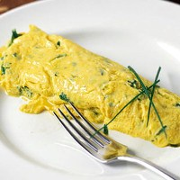 Asparagus and Bacon Omelet
