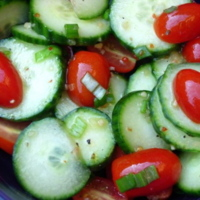 Crunchy Cool Vegetable Salad